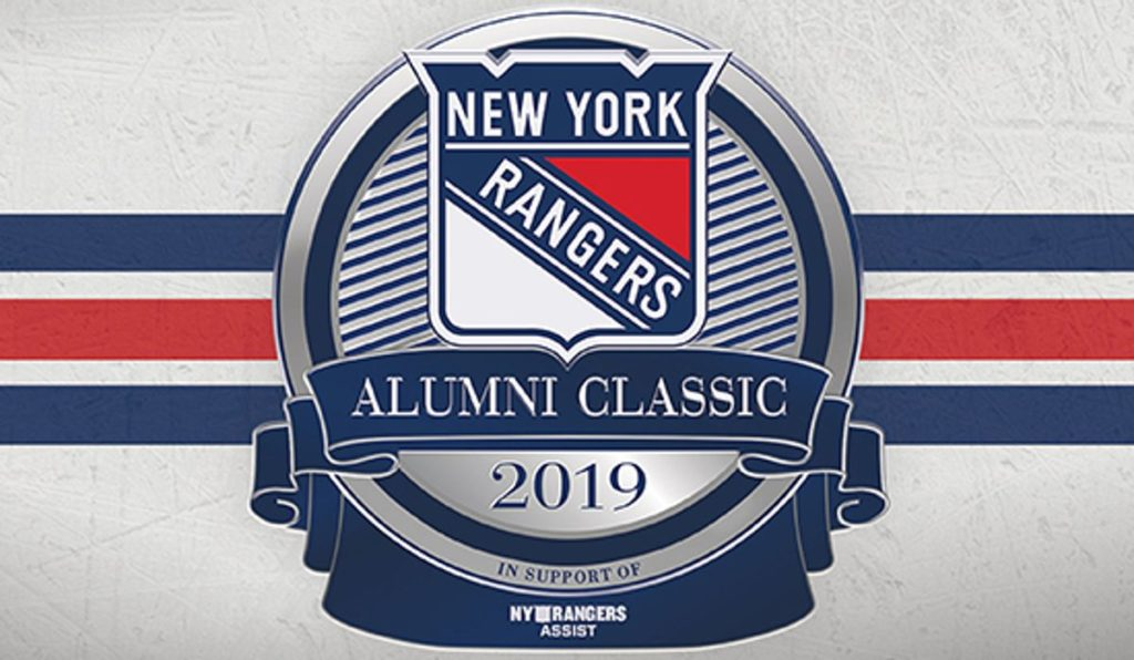 2019 NYR Alumni Classic in support of Youth Hockey