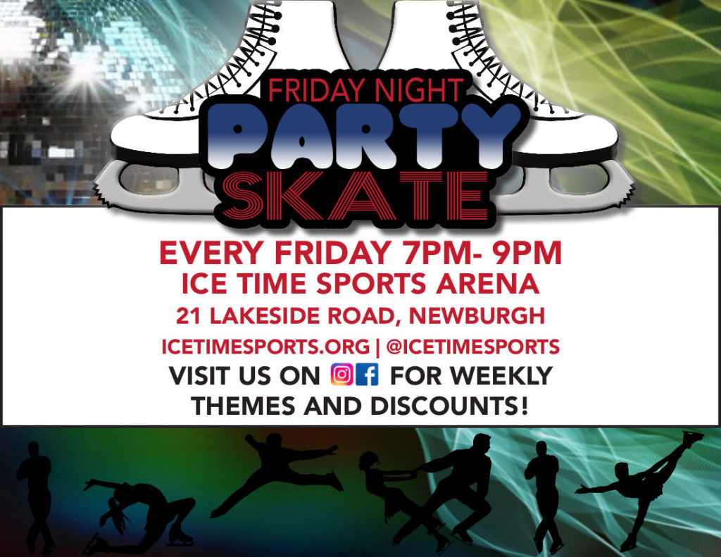 Friday Skate Night Ice Time Sports Complex