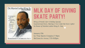 Martin Luther King Jr. Party Skate